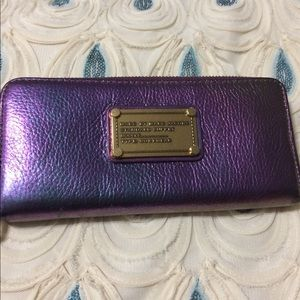 Marc by Marc Jacobs Napa Iridescent Wallet